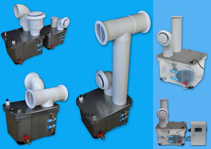 Zestawy nawilżające/generatory aerozoli solankowych z nowej serii TURBO